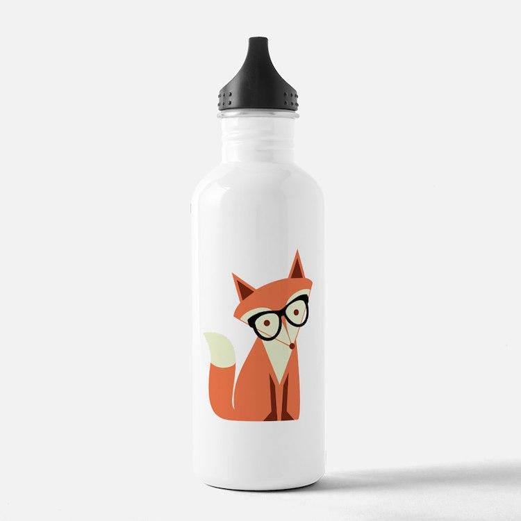 Cute Cute fox Water Bottle