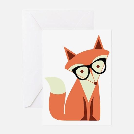 Unique Fox Greeting Card
