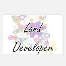 Land Developer Artistic J Postcards (Package of 8)