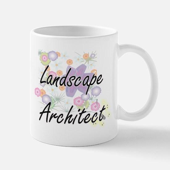 Landscape Architect Artistic Job Design with Mugs