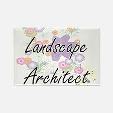 Landscape Architect Artistic Job Design wi Magnets