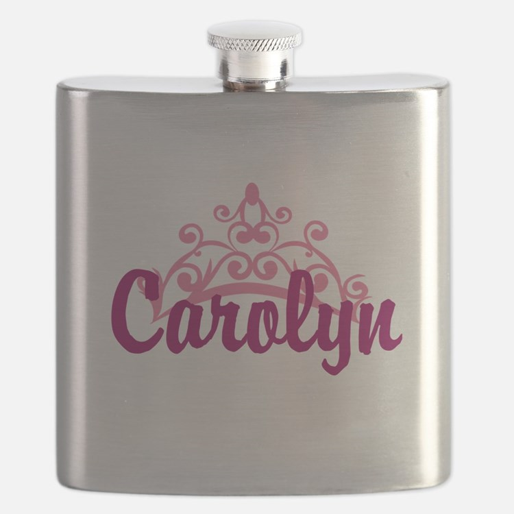 Princess Crown Personalize Flask