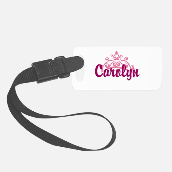 Princess Crown Personalize Luggage Tag