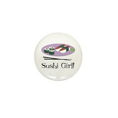 Sushi Girl! Mini Button (100 pack)
