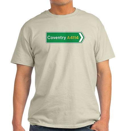 Coventry Roadmarker, UK Light T-Shirt