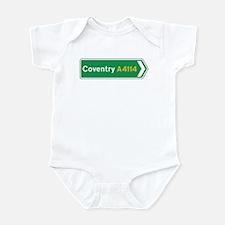 Coventry Roadmarker, UK Infant Bodysuit