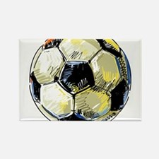 Hand Drawn Football Magnets