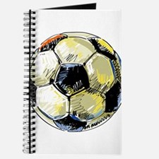 Hand Drawn Football Journal