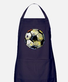Hand Drawn Football Apron (dark)
