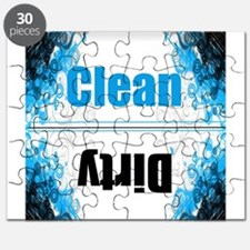 clean dirty dishwasher household magnets Puzzle