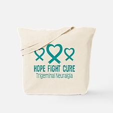 Trigeminal Neuralgia TN Ribbon Tote Bag