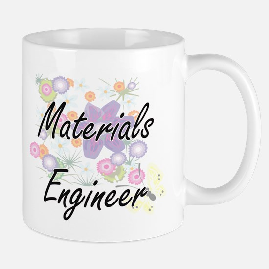 Materials Engineer Artistic Job Design with F Mugs