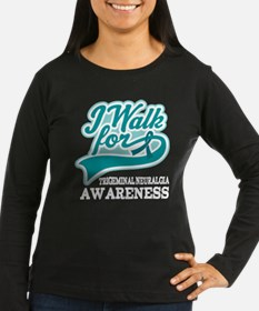 Trigeminal Neuralgia Walk Long Sleeve T-Shirt