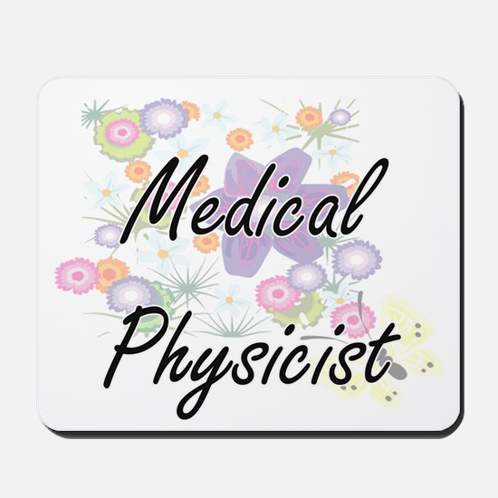 Medical Physicist Artistic Job Design wi Mousepad