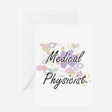 Medical Physicist Artistic Job Desi Greeting Cards