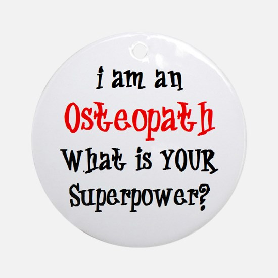 osteopath Round Ornament