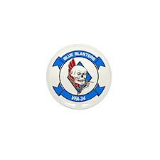 VFA-34 Blue Blasters Mini Button