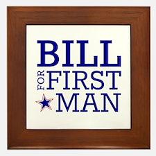 Bill for First Man Framed Tile