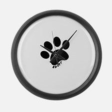 Adopt! Large Wall Clock