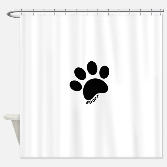Adopt! Shower Curtain