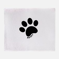 Adopt! Throw Blanket