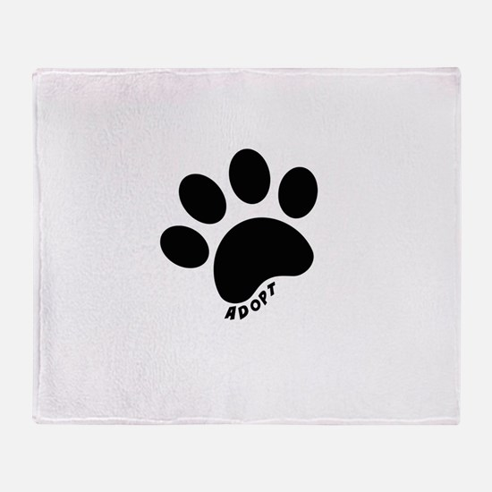 Adopt! Throw Blanket