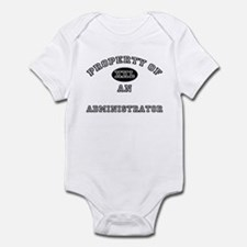Property of an Administrator Infant Bodysuit