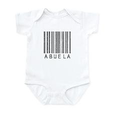 Abuela Barcode Infant Bodysuit