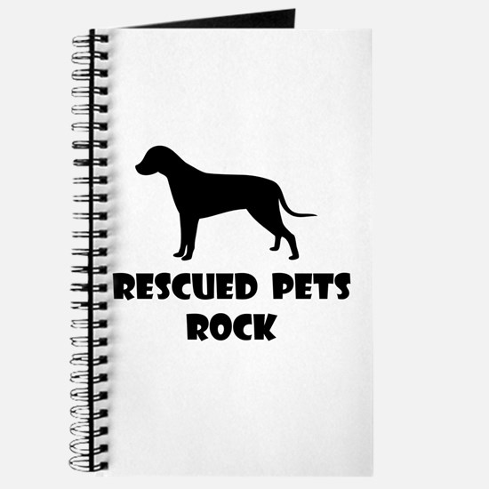 Rescued Pets Rock Journal