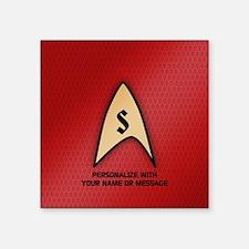 MONOGRAM Star Trek Red Insignia Sticker