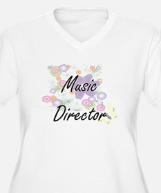 Music Director Artistic Job Desi Plus Size T-Shirt