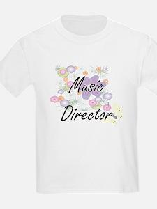 Music Director Artistic Job Design with Fl T-Shirt