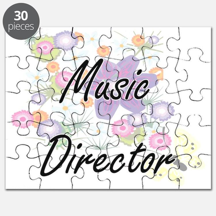 Music Director Artistic Job Design with Flo Puzzle