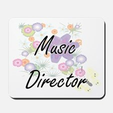 Music Director Artistic Job Design with Mousepad
