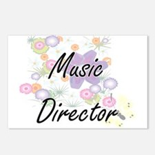 Music Director Artistic J Postcards (Package of 8)