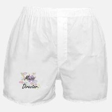 Music Director Artistic Job Design wi Boxer Shorts
