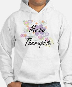 Music Therapist Artistic Job Des Hoodie