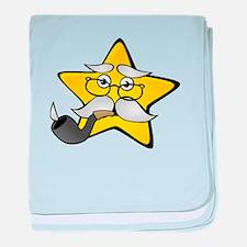 Star Grandpa baby blanket