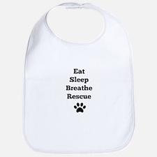Eat Sleep Breathe Rescue Bib