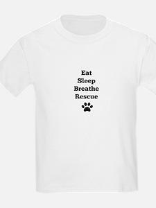Eat Sleep Breathe Rescue T-Shirt