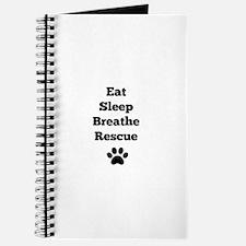 Eat Sleep Breathe Rescue Journal