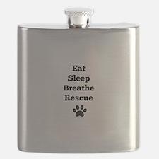 Eat Sleep Breathe Rescue Flask