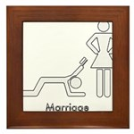 the good life Framed Tile