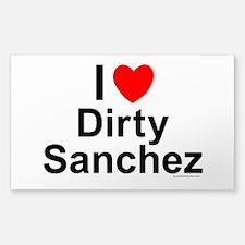Dirty Sanchez Decal
