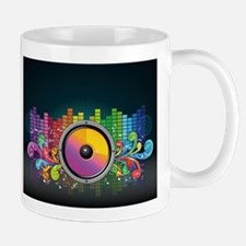 Rainbow Music Beats Mugs
