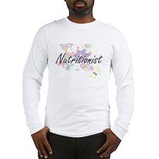 Nutritionist Artistic Job Desi Long Sleeve T-Shirt