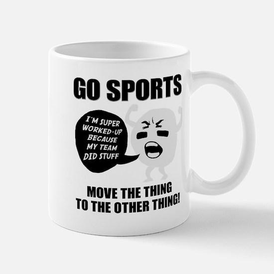 Go Sports!! Mugs