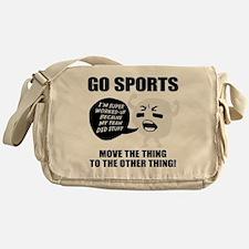 Go Sports!! Messenger Bag