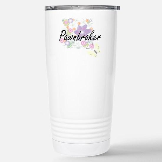 Pawnbroker Artistic Job Stainless Steel Travel Mug