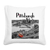 Pittsburgh Square Canvas Pillows